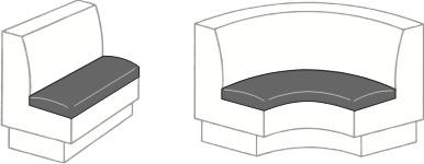 Vinyl Medic replacement seat covers diagram
